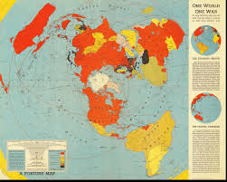 India On A Map One World One War Map 1942 World U2022 Mappery