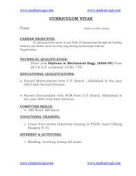 Resume Format Pdf For Mechanical Engineering Freshers Download by Download Resume Format For Freshers It Engineers