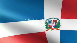 Domenican Flag Dominican Republic Flag Waving Royalty Free Video And Stock Footage