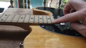 how to set up a fender telecaster style guitar diy strat and
