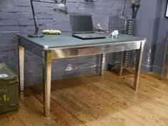 Metal Desk Vintage Stunning Vintage Mid Century Stripped Metal Twin Pedestal Office