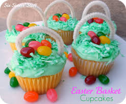 easter stuff easter basket cupcakes happy easter 2017