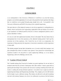 technical report writing samples electrical engineering industrial training report conclusion sri lanka power station