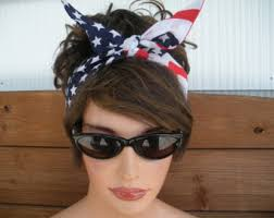 4th of july headbands american flag headband 4th july headband dolly bow headband
