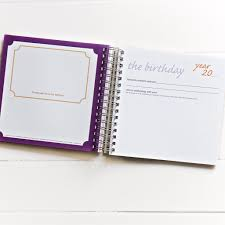 birthday yearbook the birthday yearbook once a year book birthday memory book