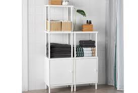 Shelving Units For Bathrooms Bathroom Shelving Units Ikea
