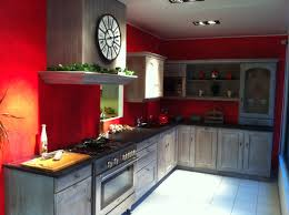 idee peinture cuisine deco cuisine et gris idees de papier peint moderne homewreckr co