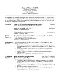 Family Nurse Practitioner Resume Examples by Human Factors Consultant Cover Letter