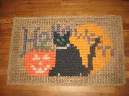 halloween doormat a jennuine life