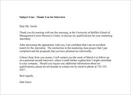 sample follow up email after interview subject line compudocs us