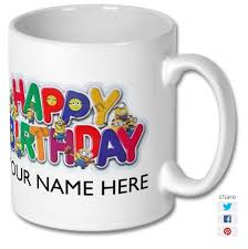 happy birthday design for mug despicable me minion happy birthday printed mug design 10 east