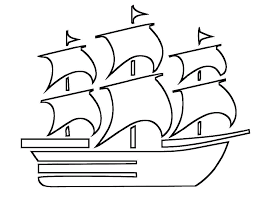 Beautiful Boat Coloring Pages Kids Coloring Point Coloring