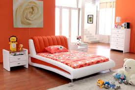 Orange Bedroom Walls How To Choose The Best Cheap Bedroom Sets For Your Home Bedroom