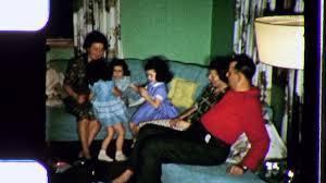 1950s Decor Middle Class Family Living Room Sofa 1950s Decor Vintage Film Home