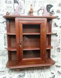 Shelves For Collectibles by Glass Curio Cabinet Ebay