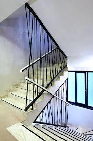 interior stair railing kits modern image of glass stair railing