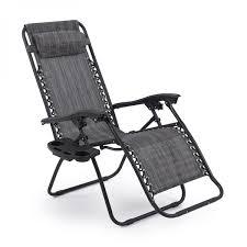 Indoor Zero Gravity Chair 2 Folding Zero Gravity Chairs Gray Onebigoutlet Com