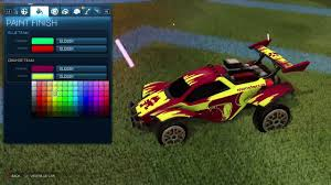 best color combos rocket league top 5 octane color combinations youtube