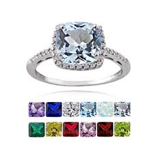rings with birthstones best women birthstone rings photos 2017 blue maize