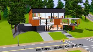 the sims 3 house floor plans bedroom pretty mod the sims twilight cullen home house minecraft