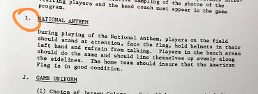 What Does The Usa Flag Represent No U0027nfl Rule U0027 That Players Must Stand For National Anthem