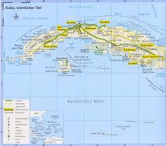 Map Cuba Cuba Valle De Viñales