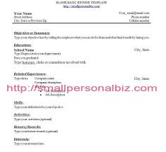 how to make a resume with no work experience example example
