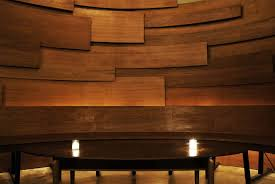 curved wood wall oulu ecolounge living wall evangeline dennie