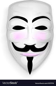 anonymous mask anonymous mask royalty free vector image vectorstock