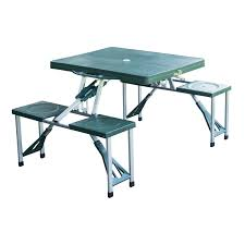 aluminum portable picnic table awesome outdoor aluminum portable folding cing picnictable with