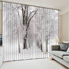 Winter Home Decor Online Get Cheap Winter Curtains Aliexpress Com Alibaba Group