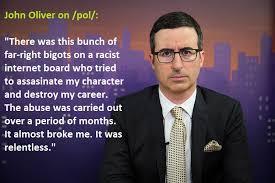 John Oliver Memes - john oliver on pol 4chan