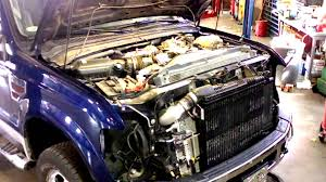 Ford Diesel Truck Radiator Cover - 2008 2010 ford super duty cab removal u0026 installation part i youtube