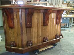 Rustic Bars Hand Crafted Rustic Western Bar By Art Of Wood Custommade Com