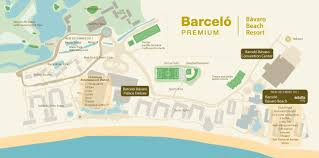 Tripadvisor Map Barcelo Bavaro Palace Deluxe Travel By Bob