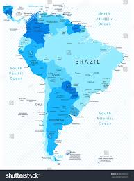 Columbia South America Map Map Of South America Labeled Map Of South America Labeled Map