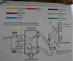 hampton bay ventilation fan wiring doityourself com community forums