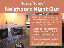 previous event u0027neighbors night out u0027 at alaskan fireplace company