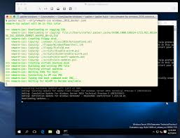 first impressions of docker on windows 2016 tp5
