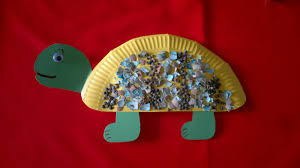 le baby bakery paper plate turtle craft