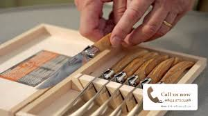 laguiole olive wood steak knives steakknives co uk youtube