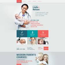 template web para sites de pediatra