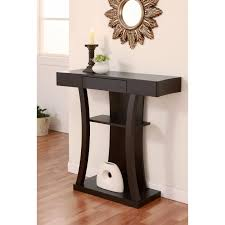Storage Console Table Contemporary Design Living Room With Multi Storage Console Table