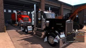 kw box truck american truck simulator kw t440 dump truck youtube