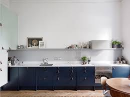 Kitchens Interiors Gabinete Azul Marinho Em Cozinha Cozinha Pinterest Kitchens