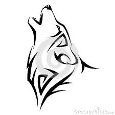 coloring gorgeous simple wolf drawing easy head coloring