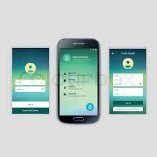 mobile screens user interface kit modern user interface ux ui