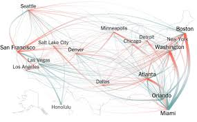 thanksgiving flight patterns about infographics and data