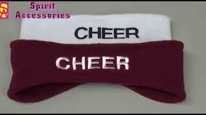 monogram headband monogrammed headband cheer gifts apparrel