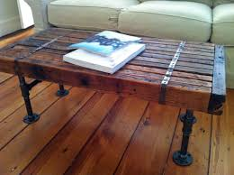 barn wood home decor barn wood coffee table with metal bands u2014 home ideas collection